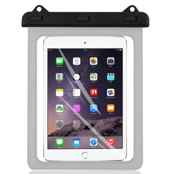 New fashion pvc waterproof bag for <strong>ipad</strong> and similar 10 inch tablet for camping beach