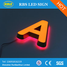 customized letters DC12V led advertising board