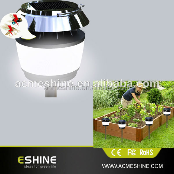 SOLAR & DC CHARGING Solar Mosquito Killer Light With Ultrasonic Wave ELS-05M-K