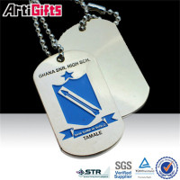 High quality dog tag for usa army forces