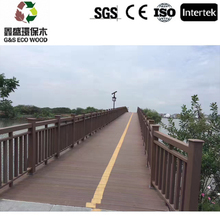 Natural wood outlook construction material outdoor bamboo floor