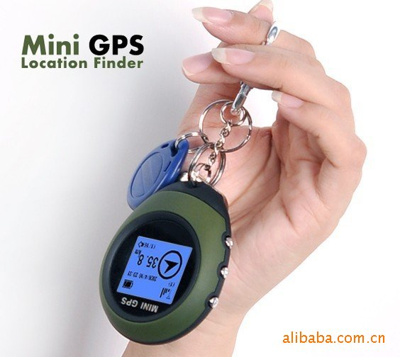 Mini GPS Location finder with geographic coordinates
