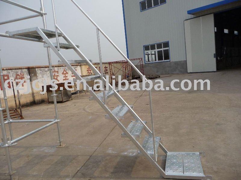 Steel Scaffolding Japan : 組み立てられた足場鋼鉄階段 はしご、足場部品 製品id  japanese alibaba