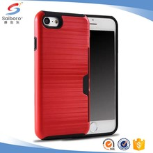 Customized brushedsmart phone cover case for iphone 5s