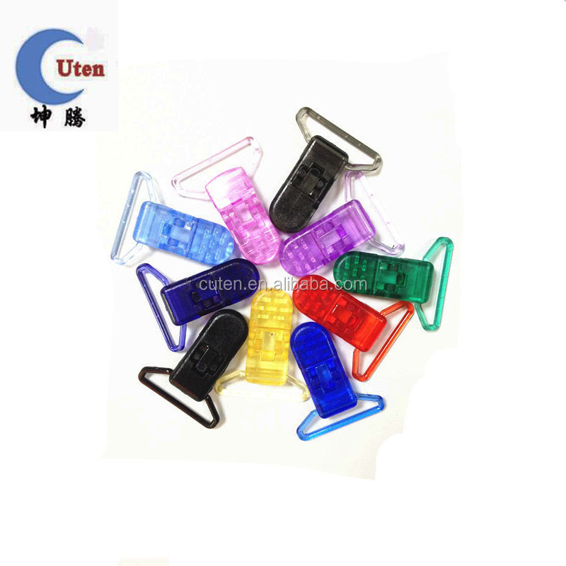 Customized Coloful Baby Plastic Clips