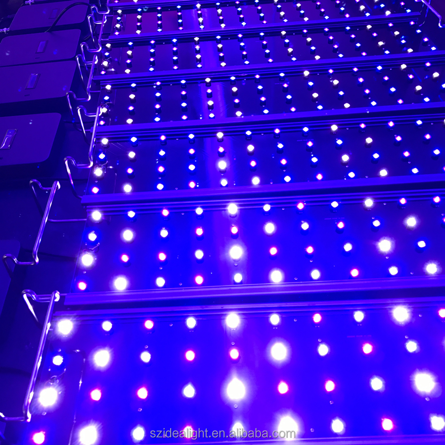 2016 hight quality products 300w led aquarium lighting hanging system kit led lights for silicone coral aquatic plants