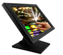 17 inch TFT LCD resistive touch screen monitor with VGA Jack
