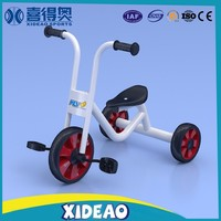 new design hot sale mental children pedal tricycle for wholesale