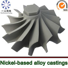 Superalloy turbine wheel used for turbocharger of man diesel engine spare parts