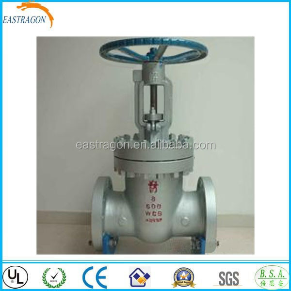 DIN Automatic Cast Steel Gate Valves DN50-DN250