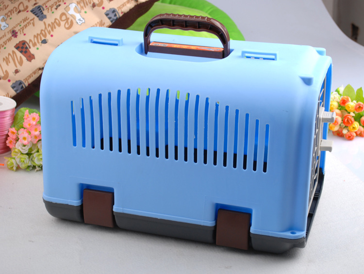 Low Price Best Airline approved plastic Dog Cages Collapsible Pet Crate Cat Kennels