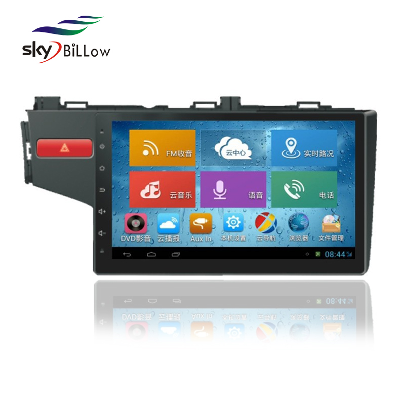 2015 Hot New Car DVD Player Car GPS Navigation 10.2 inch with 3G WIFI Bluetooth for Honda New FIT