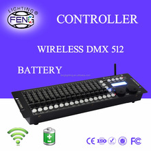 Hot Selling Battery Powered DMX 512 Stage Lighting Mixer for Sale