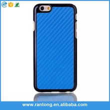 Hardness 100% Real Pure Material hard carbon fiber case for iphone 6