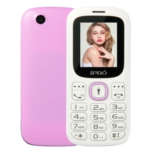 iPro i3185 1.77 Inch Quad Band Dual SIM 800mAh Battery Low Price China Mobile Phone GSM mobile