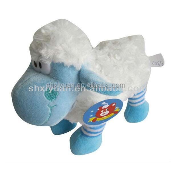 Cuddly Plush Sheep Handmde Lamb Toy in China