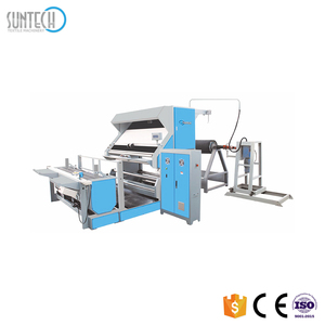 SUNTECH Big Roll Batching Fabric Inspection and Measuring Machine