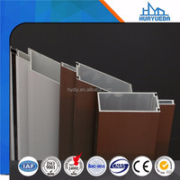 commercial custom curtain wall door framing systems of aluminium profile from china
