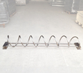 Outdoor Spiral Commercial SS Bike Parking Rack