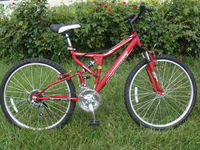"strong red mountain bicycle 26"" SH-SMTB067"