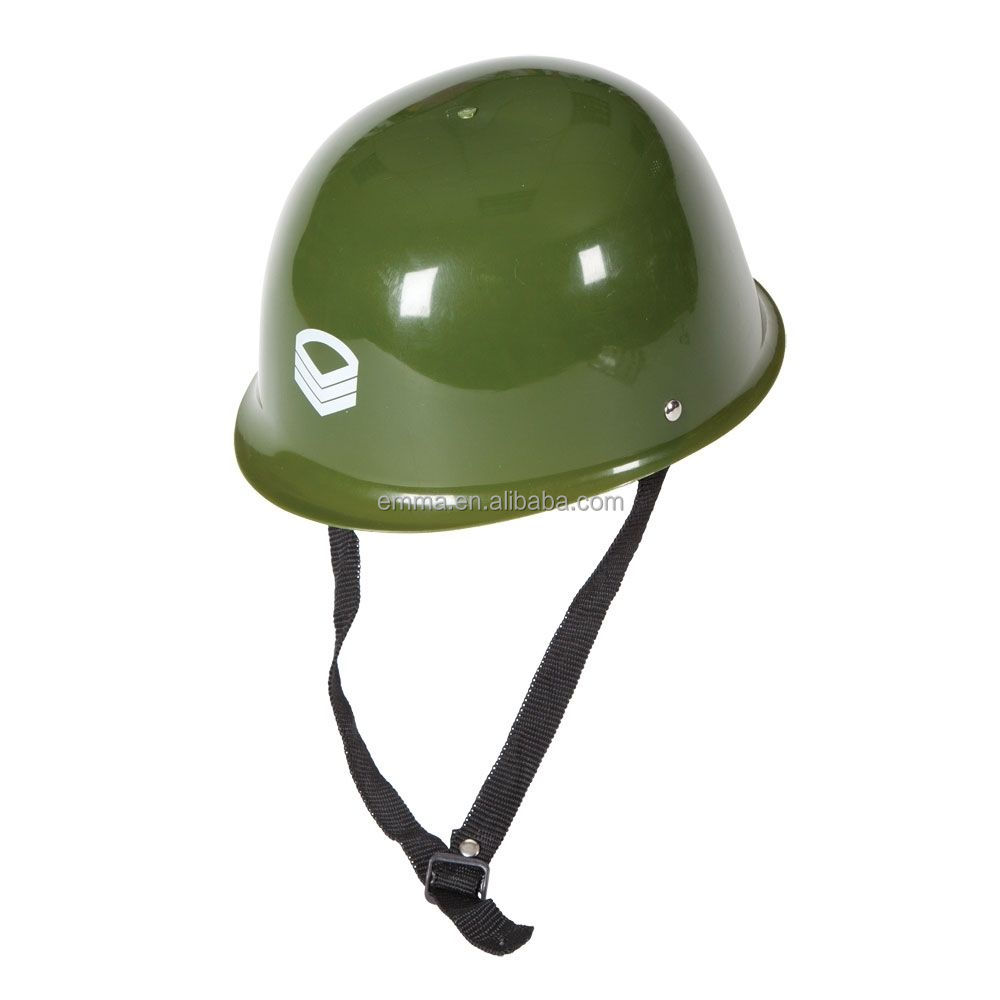 Army Helmet Plastic Hat Outfit Accessory For Soldier Military Fancy Dress HT17276