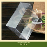 Transparent Clear Baby Shoe Box Packaging