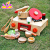 2015 wooden kitchen set toy, pretend play kitchen toy for baby, kids kitchen set toy W10D112