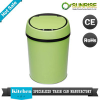 recycling trash bin smart bin stainless sensor trash can cute