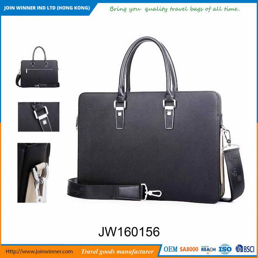 Hot selling machine grade genuine leather briefcase of ISO9001 Standard