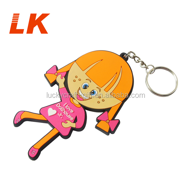 Pvc Material Custom Motorcycles Soft Rubber Keychains For Keys
