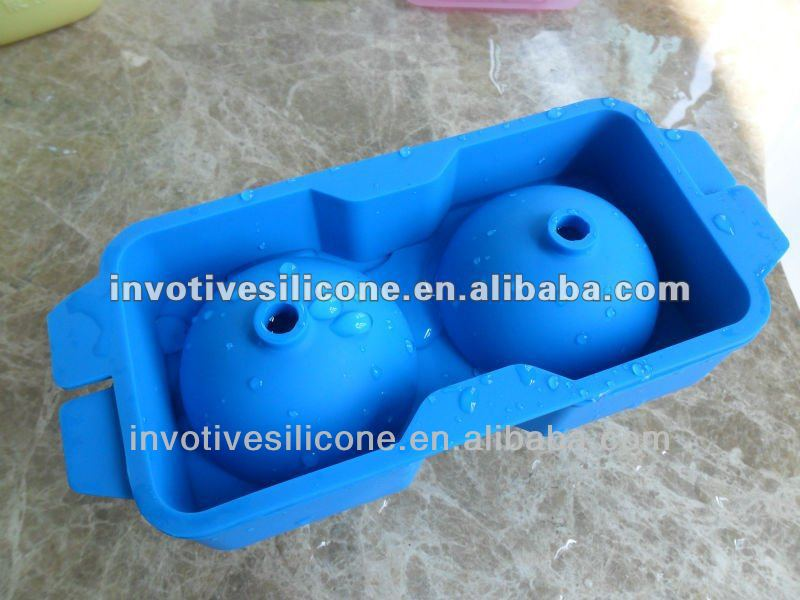 Sedex Factory Audit Silicone Ball Shaped Ice Cube Tray