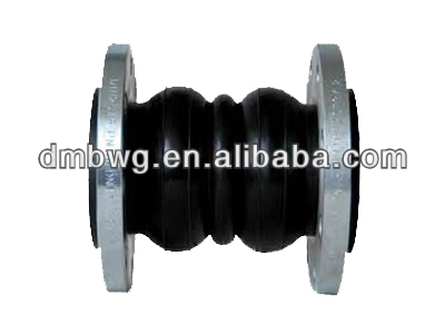 Professional manufacture double sphere union type rubber expansion joint