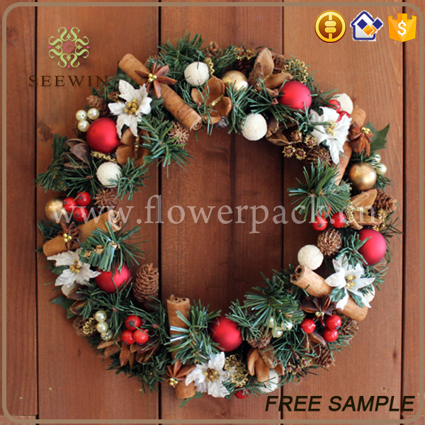 happy moment wall hangings wholesale christmas wreath decorations