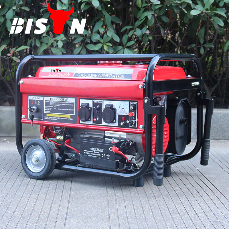 BISON(CHINA)Long Run Time Electric Start With Battery Best Home Power Generators