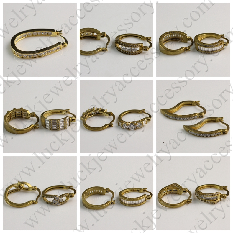 Awesome Gold Ring Type Earring | Jewellry\'s Website