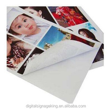 135gsm SELF-ADHESIVE glossy photo paper with pure whiteness