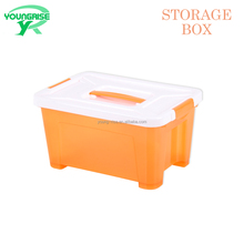 Wholesale Toy Sundries Use Storage Boxes Plastic Containers with Lock Lid