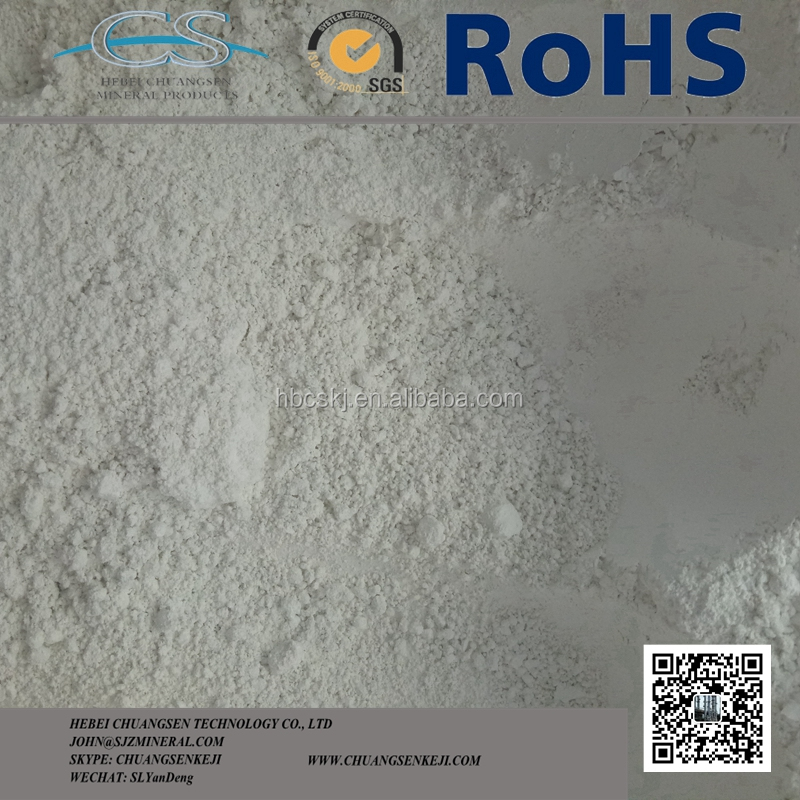 High Quality Raw Clay White Calcined Kaolin Price