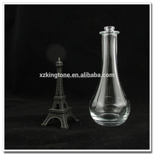 110ml bowling shape aroma glass bottle with cap
