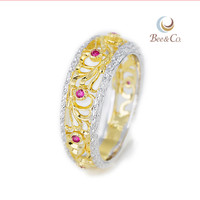 Latest Design Smart Gold Wedding Ring manufacture