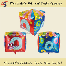 Inflatable Cubic Helium Balloon Square foil Balloon