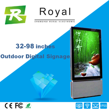 "hot sale & high quality 55"" outdoor digital signage for bus station with"