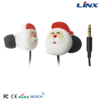 Portable media mp3 player in-ear headphone cute mobile phone accessories dubai football headphone