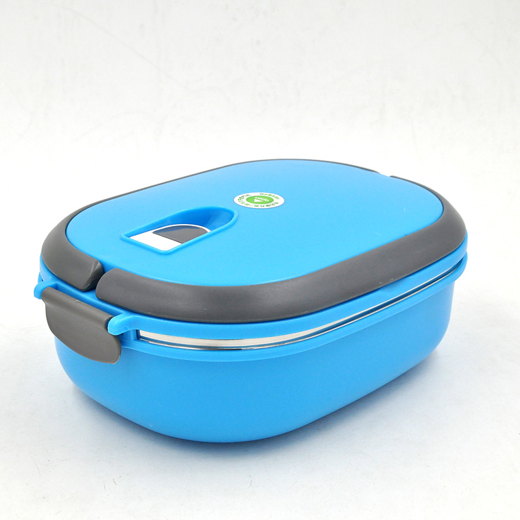hot selling colorful housewares promotional plastic kids lunch box with handle