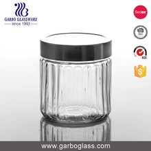 China Wholesale elegant glass jar mini glass jam jar