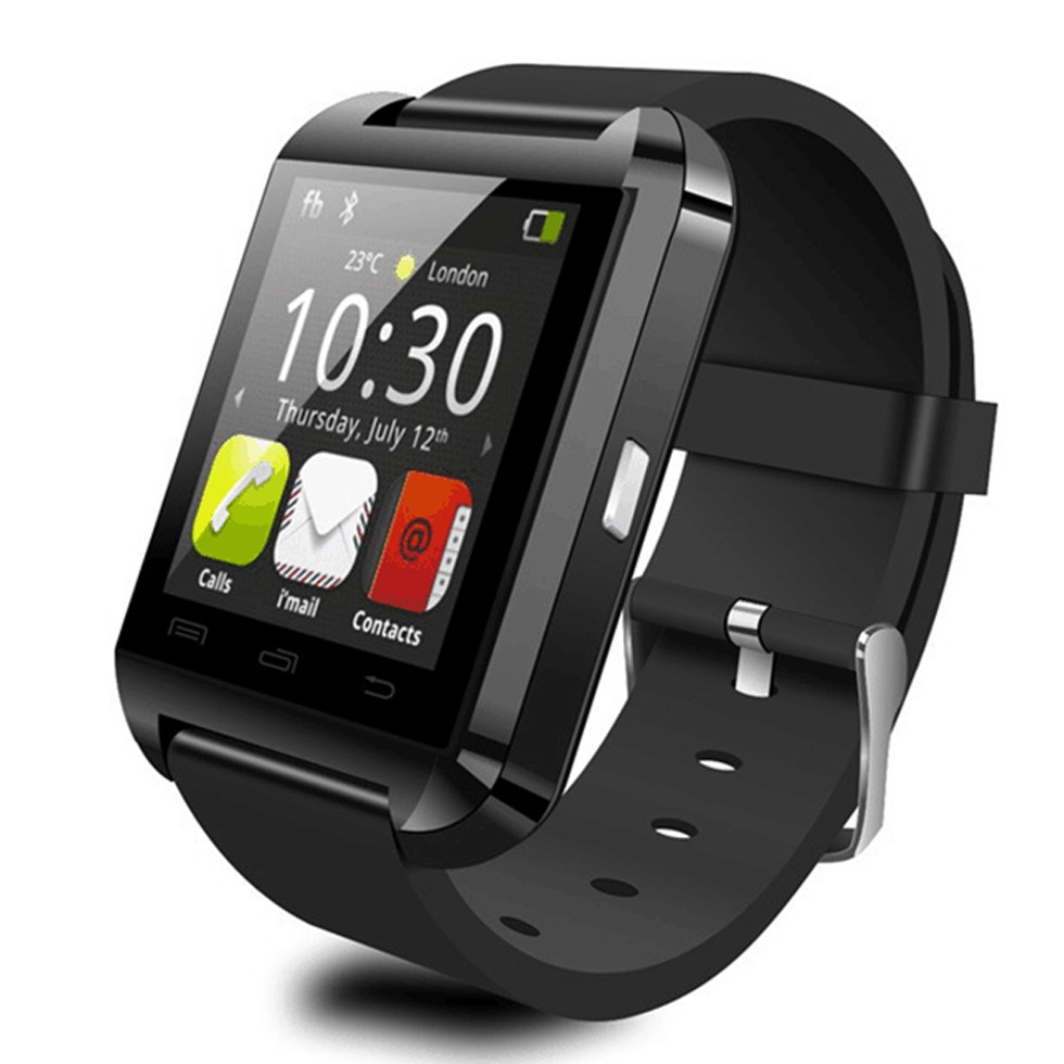 hot sale bluetooth waterproof Black Silver white red color smartwatch u8 with <strong>a1</strong> smart watch gt08