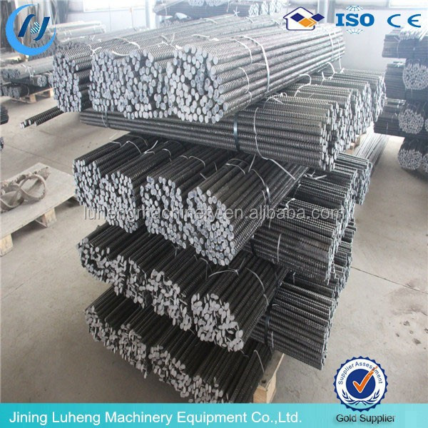 steel self drilling hollow thread grout rock bolt