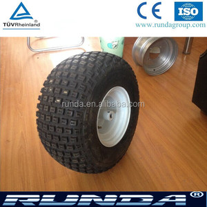 Wide tyre ATV wheel tire for beach cart