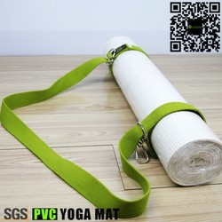 Complete Strap Carrier Pvc Yoga Mat White Color