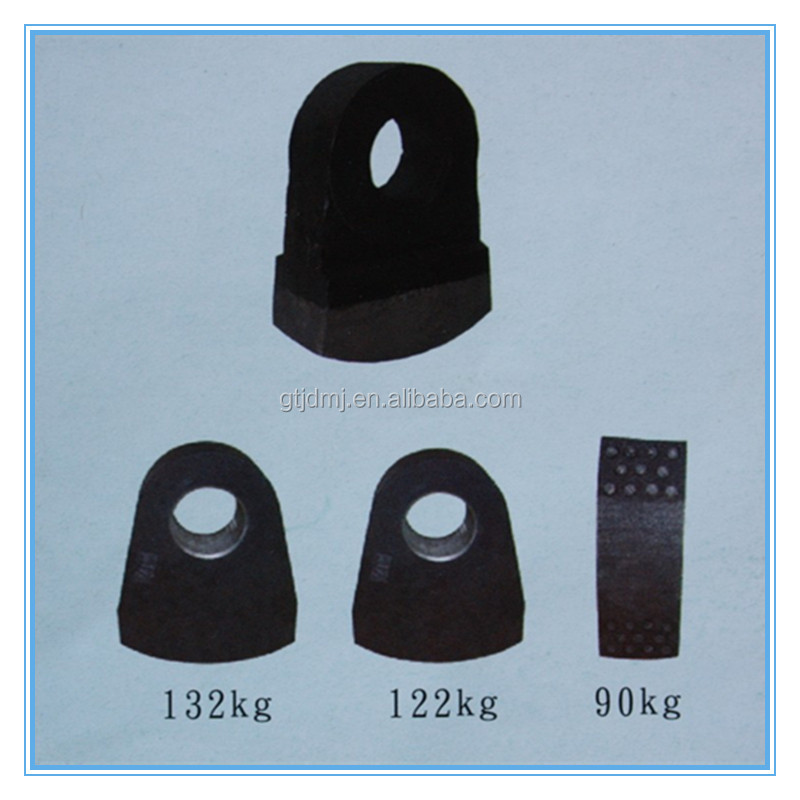 Mechanical Crushing Tungsten Hammer /Crushing Of Carbide Hammers